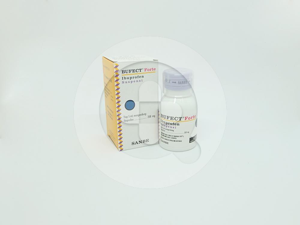 Bufect forte suspensi adalah obat untuk meringankan nyeri ringan sampai sedang dan menurunkan demam.