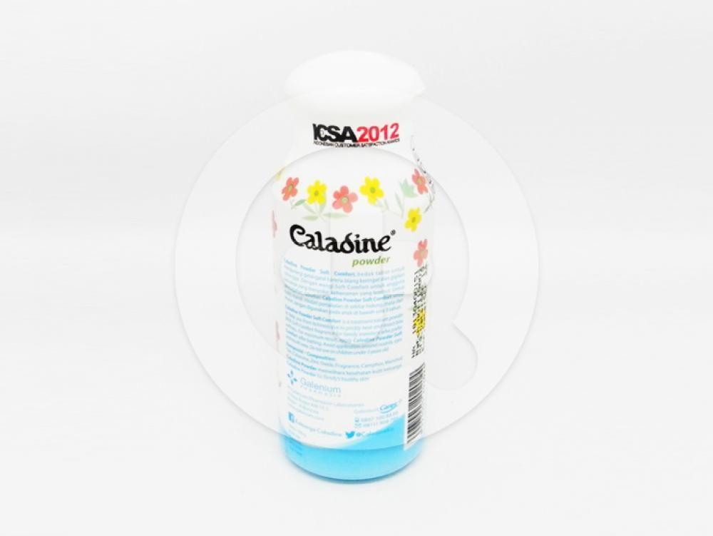 Caladine Bedak Soft Comfort 100 g membantu mengurangi gatal-gatal karena biang keringat.