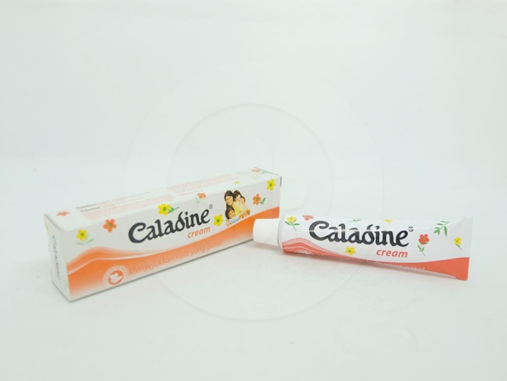 Caladine krim 15 g berguna untuk menyejukan kulit yang gatal dan melembabkan kulit.