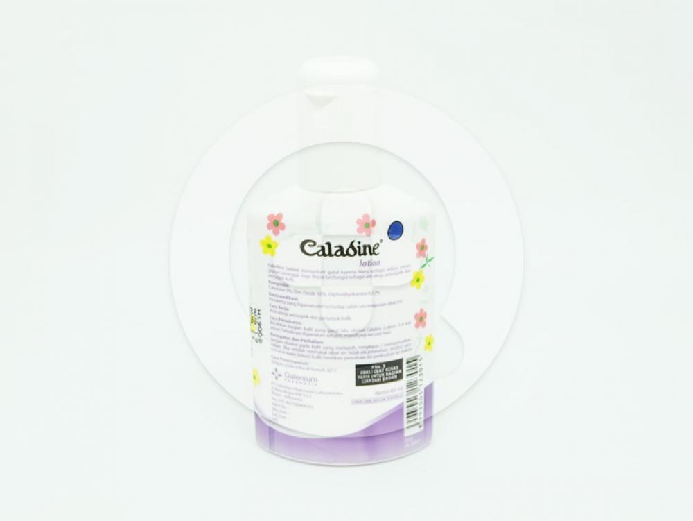 Caladine lotion 60 ml untuk mengobati gatal karena biang keringat, udara panas dan gigitan serangga.