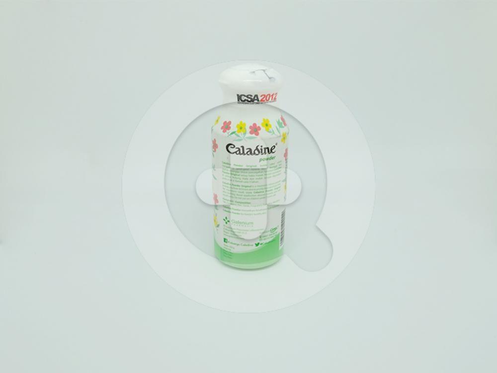Caladine powder original 100 g adalah bedak tabur yang membantu mengurangi gatal-gatal karena biang keringat.