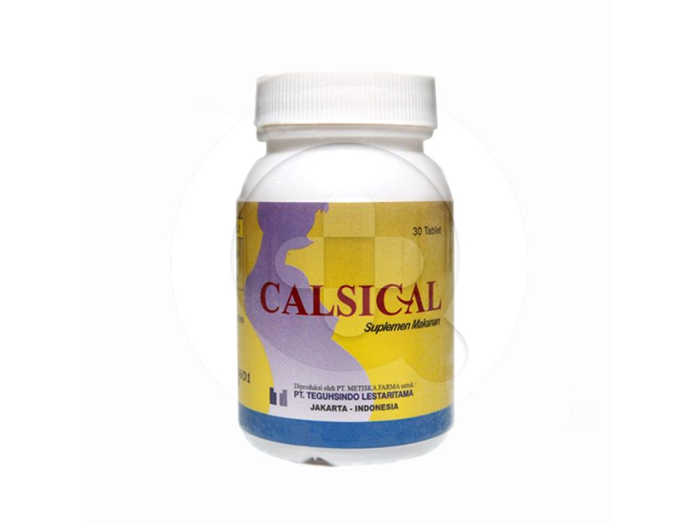 Calsical tablet adalah suplemen kalsium dan vitamin D untuk wanita hamil dan ibu menyusui.
