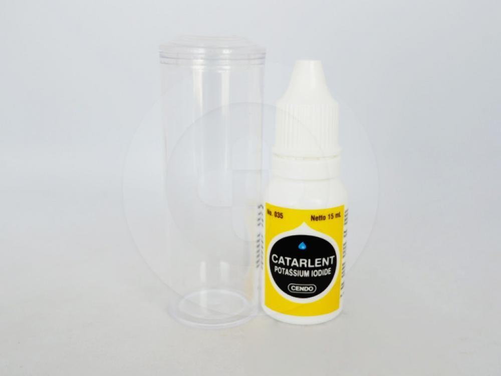 Catarlent tetes 15 ml  adalah obat mata tetes steril yang membantu mengurangi kekeruhan pada lensa untuk penyakit katarak.