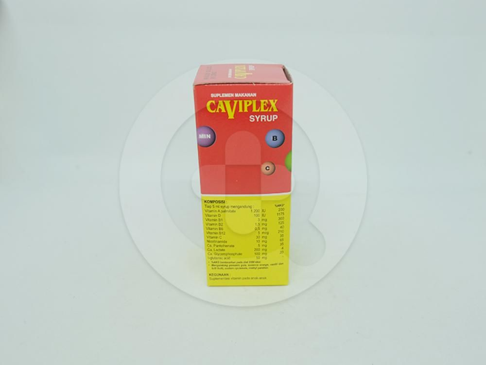 Caviplex sirup 60 ml adalah suplementasi vitamin pada anak-anak.
