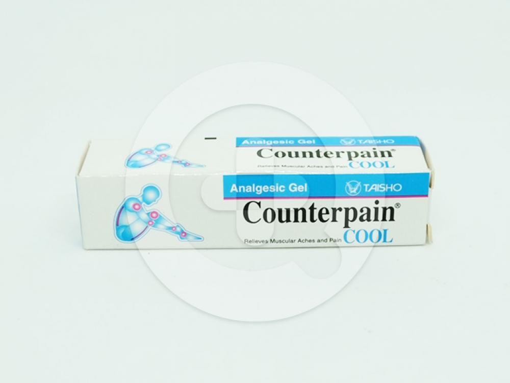 Counterpain Cool gel adalah obat yang dapat membantu meringankan nyeri otot dan nyeri sendi.