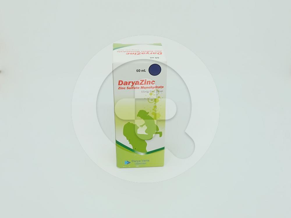 Daryazinc Sirup 60 ml sebagai obat tambahan diare dan pencegahan dehidrasi pada anak.