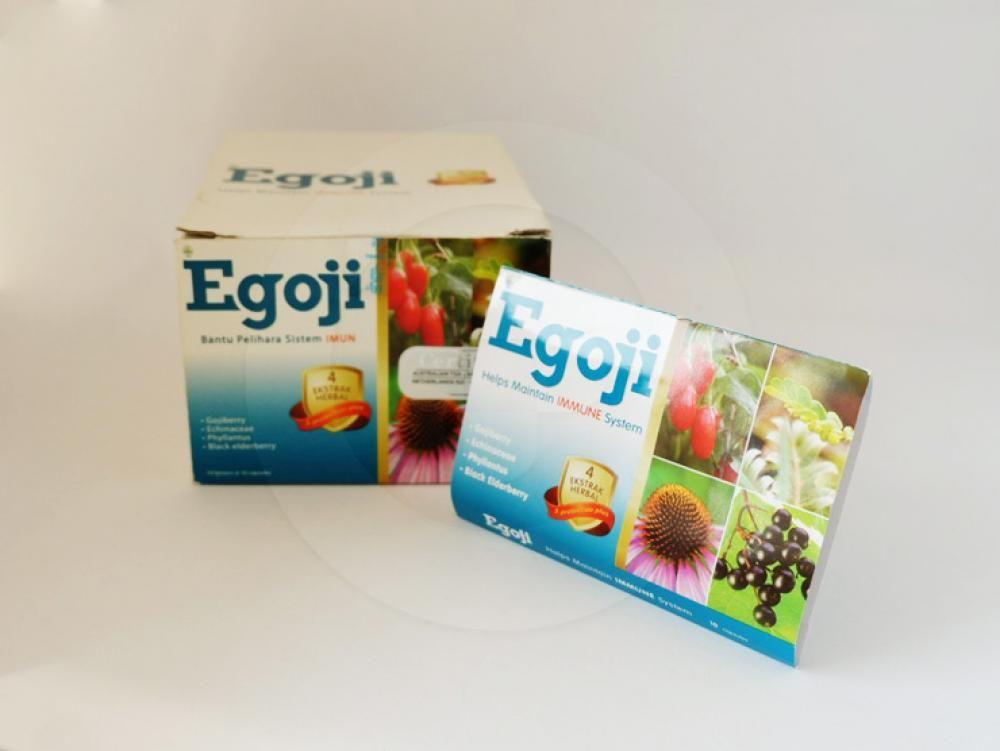 Egoji kapsul adalah obat yang digunakan untuk membantu memelihara daya tahan tubuh.