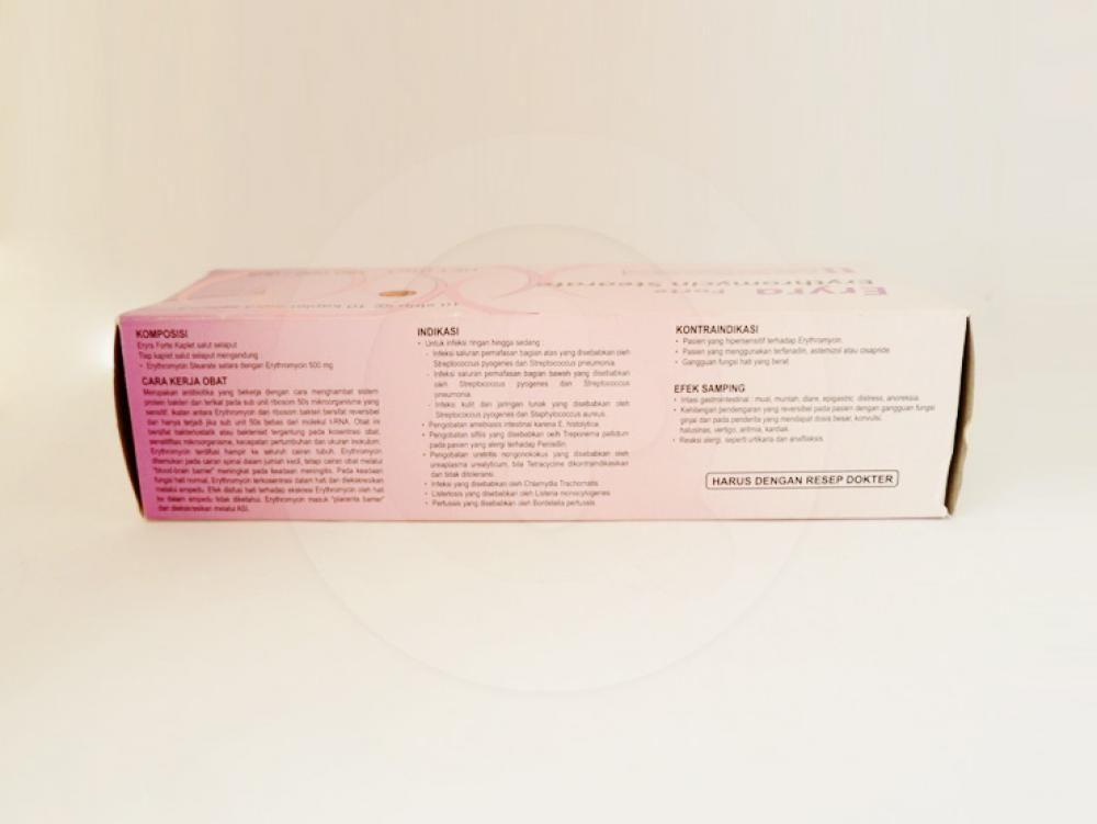 Eryra Forte kaplet adalah obat untuk mengatasi berbagai infeksi yang disebabkan bakteri