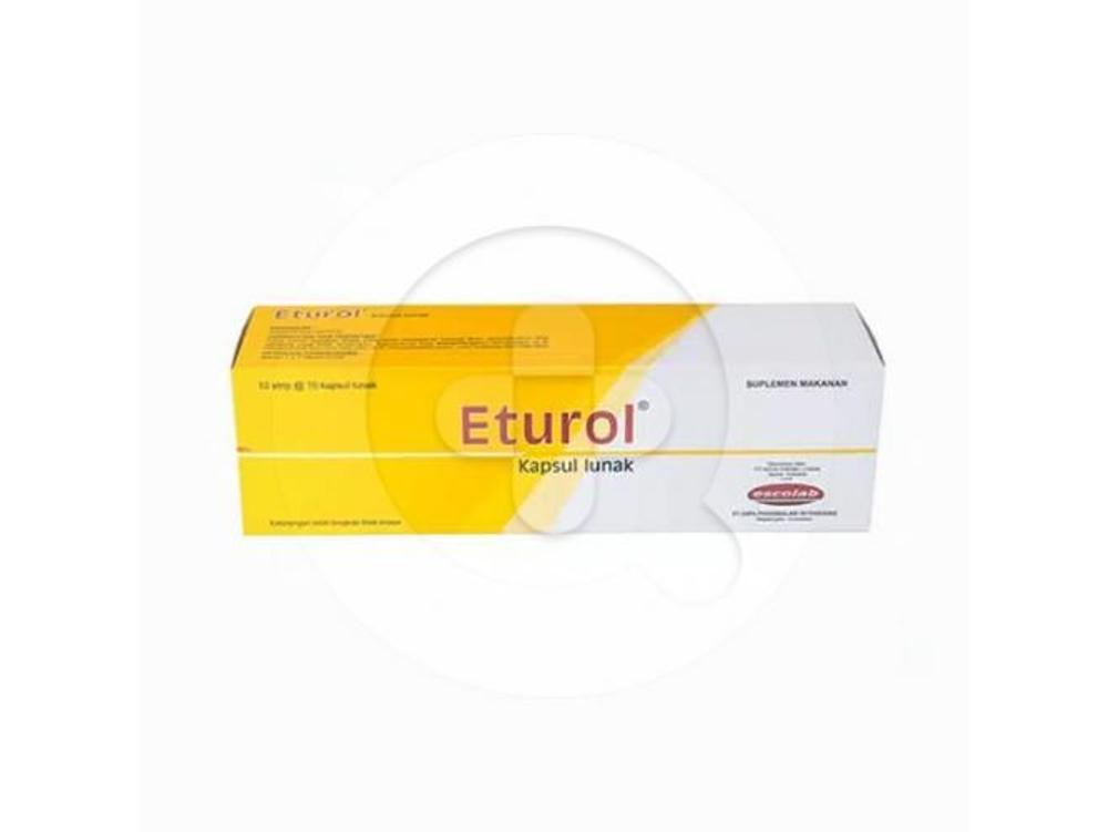 Eturol kapsul adalah suplemen yang digunakan untuk memenuhi kebutuhan vitamin E.