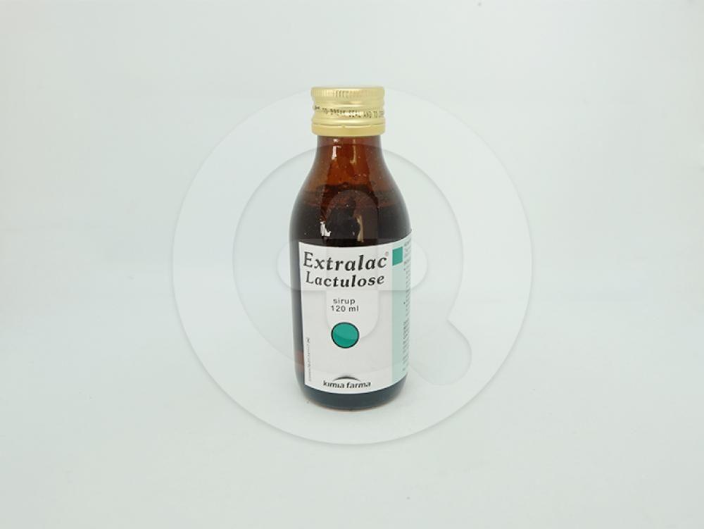 Extralac sirup 120 ml adalah obat untuk mengatasi konstipasi.
