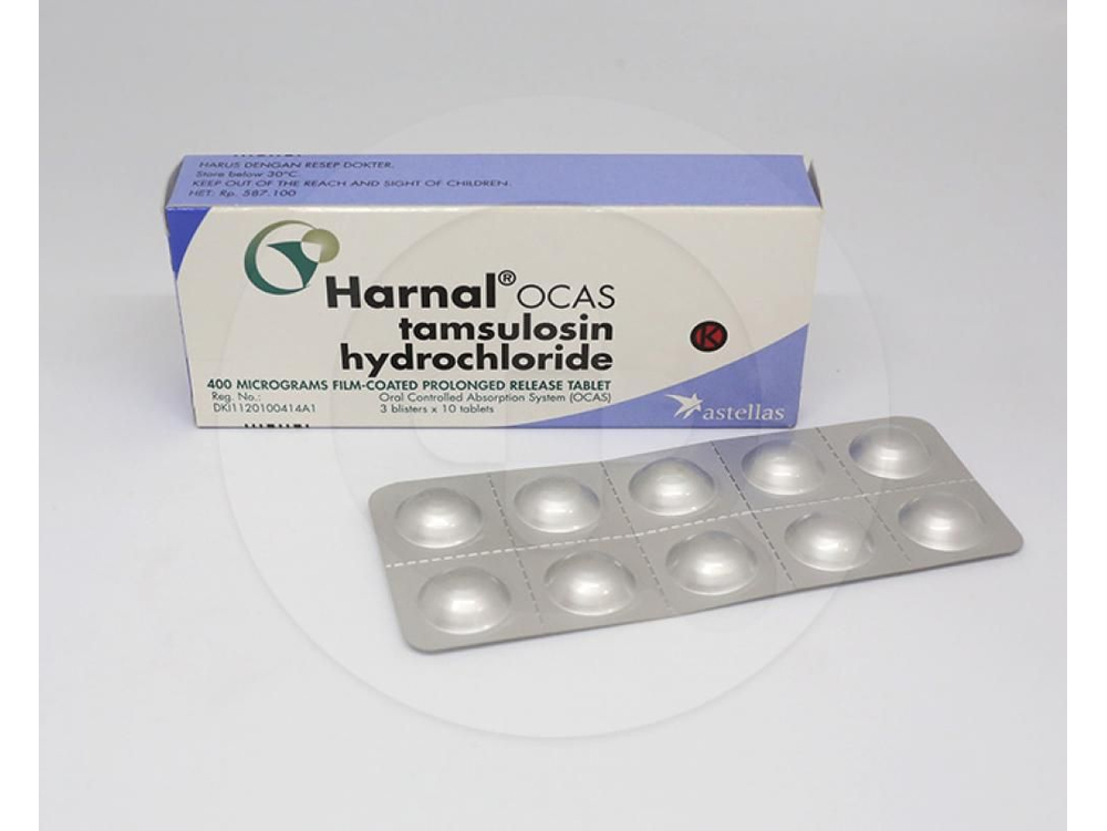Harnal Ocas Tablet 0 4 Mg Manfaat Dan Indikasi Obat Dosis Efek Samping