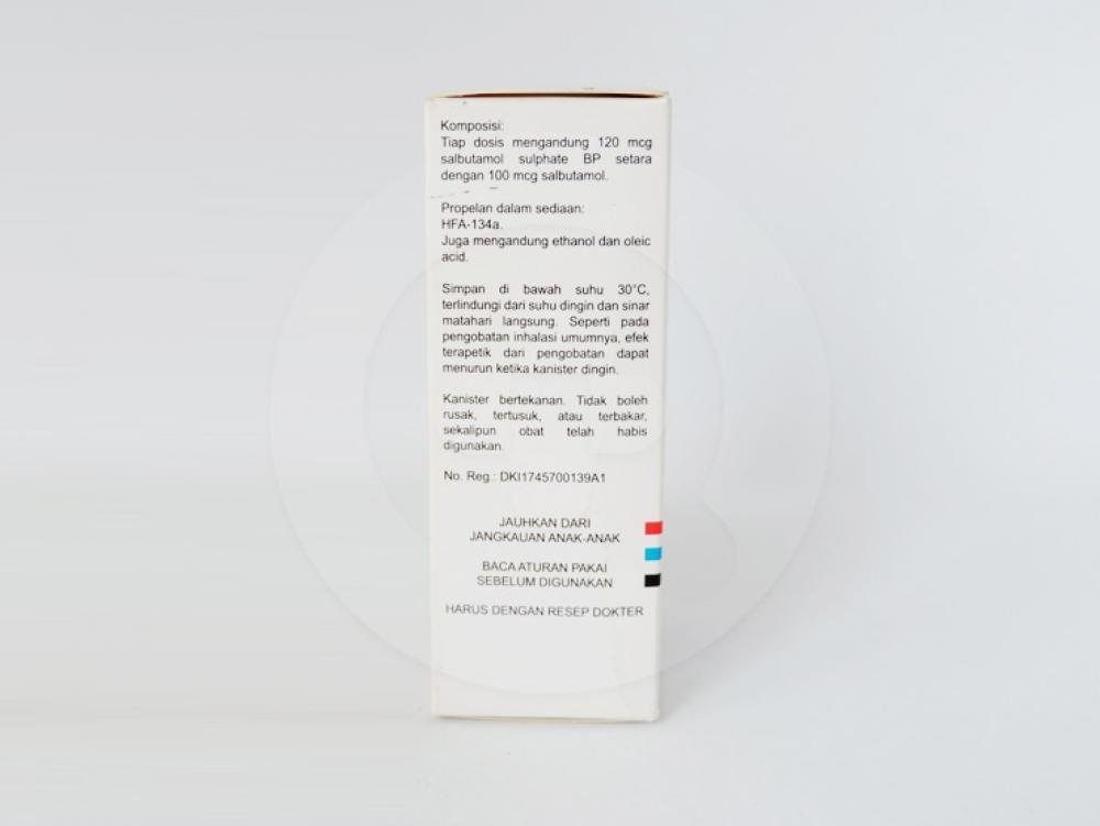 Salbulin Inhaler 200 Dosis Manfaat Dan Indikasi Obat Dosis Efek Samping