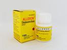 Alleron kaplet 4 mg untuk antihistamin pada keadaan alergi seperti urtikaria, rinitis, dan hay fever.