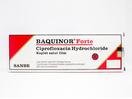 Baquinor Forte adalah antibiotik untuk infeksi saluran kemih, infeksi saluran cerna, infeksi saluran napas, dan infeksi kulit