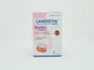 Candistin Drops Rasa Strawberry 12 ml digunakan untuk pengobatan infeksi akibat jamur candida (kandidiasis) pada rongga mulut.