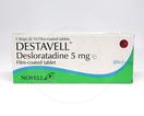 Destavell adalah obat yang bekerja sebagai pengobatan rhinitis alergi dan kulit gatal dan kemerahan kronis