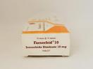 Farsorbid tablet 10 mg untuk terapi dan mencegah nyeri dada yang disebabkan oleh penyakit jantung koroner (angina pektoris).