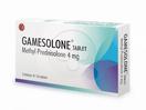 Gamesolone tablet digunakan untuk kelainan fungsi adrenokortikal, alergi dan peradangan.
