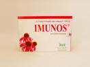 Imunos kaplet 1100 mg sebagai suplemen untuk membantu memelihara daya tahan tubuh.