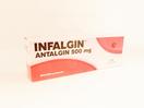Infalgin kaplet 500 mg sebagai derivat pyrazolon infalgin berkhasiat analgetik seperti neuralgia, dysmenoorhae, dan nyeri trauma