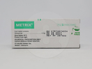 Metrix adalah obat untuk menurunkan gula darah pada penderita diabetes tipe 2