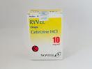 Ryvel tetes 10 ml adalah obat yang digunakan untuk meredakan gejala-gejala yang berhubungan dengan rinitis alergi menahun, rhinitis alergi musiman dan urtikaria kronis.