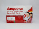 Sangobion digunakan untuk mengatasi anemia karena kekurangan zat besi dan mineral lain