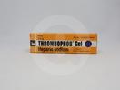 Thrombophob Gel adalah obat luar yang digunakan untuk pengobatan flebitis pada permukaan kulit (superfisial) karena pemasangan infus, cedera akibat olahraga, dan kecelakaan seperti memar