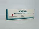 Ticuring tablet 250 mg adalah obat yang berguna sebagai mengurangi resiko terjadinya stroke trombotik dan mengurangi resiko trombosis.