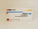 Trolip tablet 160 mg untuk mengatasi hiperkolesterolemia dan hipertrigliseridemia.