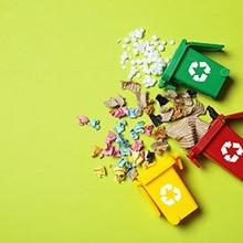 Limbah berdasarkan wujudnya dikelompokkan menjadi limbah padat, cair, dan gas