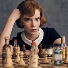 Manfaat bermain catur untuk kesehatan mental sangatlah beragam. (Sumber foto: https://www.instagram.com/netflix/)