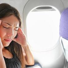 Seseorang dengan aerophobia sangat takut saat naik pesawat