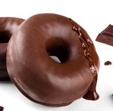 Gula tersembunyi antara lain terkandung pada donat cokelat