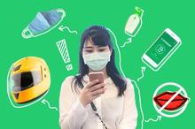 Naik ojek di fase new normal akan terasa berbeda. Sebab Anda harus melakukan pencegahan virus corona.