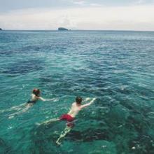 Berenang di laut