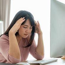 Burnout sering disertai dengan munculnya sakit kepala