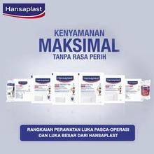 Perawatan luka dapat berlangsung optimal dengan Hansaplast