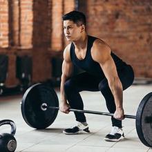 Deadlift adalah latihan angkat beban untuk membentuk postur tubuh lebih tegak