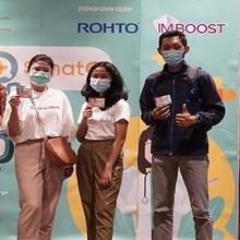 Imboost hadir dalam sentra vaksinasi Covid-19 di QBig BSD City, Tangerang