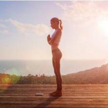 Yoga namaskar disebut juga sun salutation dilakukan dalam 10-11 gerakan