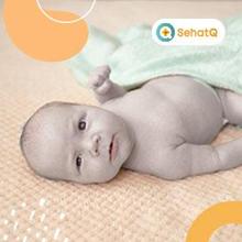 Kulit bayi berwarna keabu-abuan