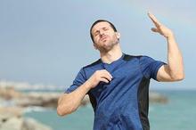 Cuaca panas ekstrem membuat seseorang rentan terkena heat stroke