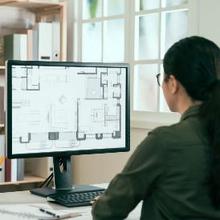 Jarak pandang yang sesuai antara mata dengan komputer adalah 50-100 cm