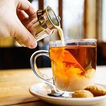 minum teh campur susu bahaya