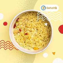 Kebanyakan makan mie berisiko obesitas hingga darah tinggi.