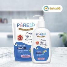 Gunakan PUREBB Liquid Soap untuk merawat kulit bayi baru lahir