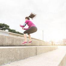 Lompat kelinci adalah gerakan melompat seperti kelinci untuk melatih otot kaki dan mengasah motorik kasar
