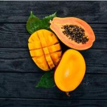 Buah tropis seperti mangga dan pepaya ternyata juga digunakan untuk perawatan kulit
