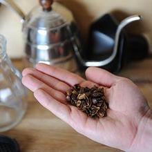 Cascara adalah kulit biji kopi kering yang biasa digunakan untuk membuat minuman teh